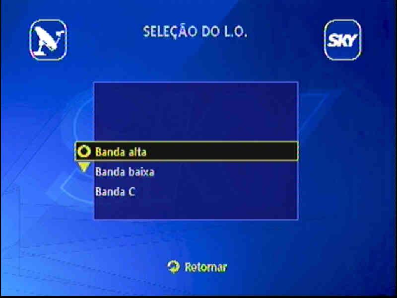 Guia + Tutorial Ilustrado canais Banda C na SKY Passo110