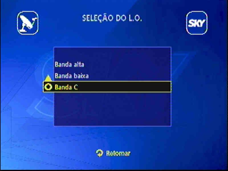 Guia + Tutorial Ilustrado canais Banda C na SKY Passo113