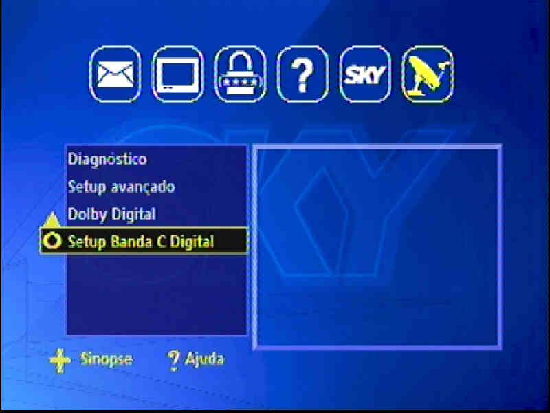 Guia + Tutorial Ilustrado canais Banda C na SKY Passo117