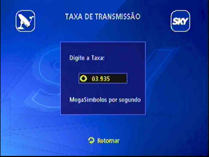 Guia + Tutorial Ilustrado canais Banda C na SKY Passo211