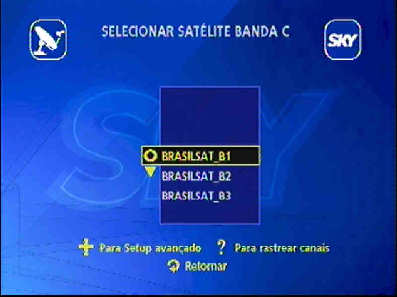 Guia + Tutorial Ilustrado canais Banda C na SKY Passo215
