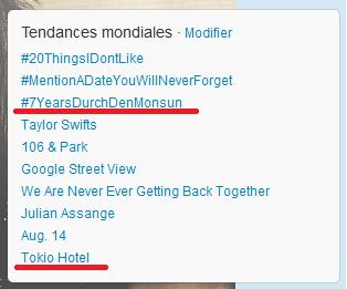 """[INFO] Tokio Hotel en """"trending topic"""" sur Twitter !  - Page 3 2en110"""
