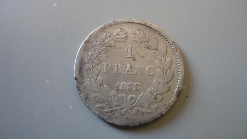 """1 franc """"Louis Philippe"""" 1832 Atelier de Strasbourg (BB) Dsc03710"""