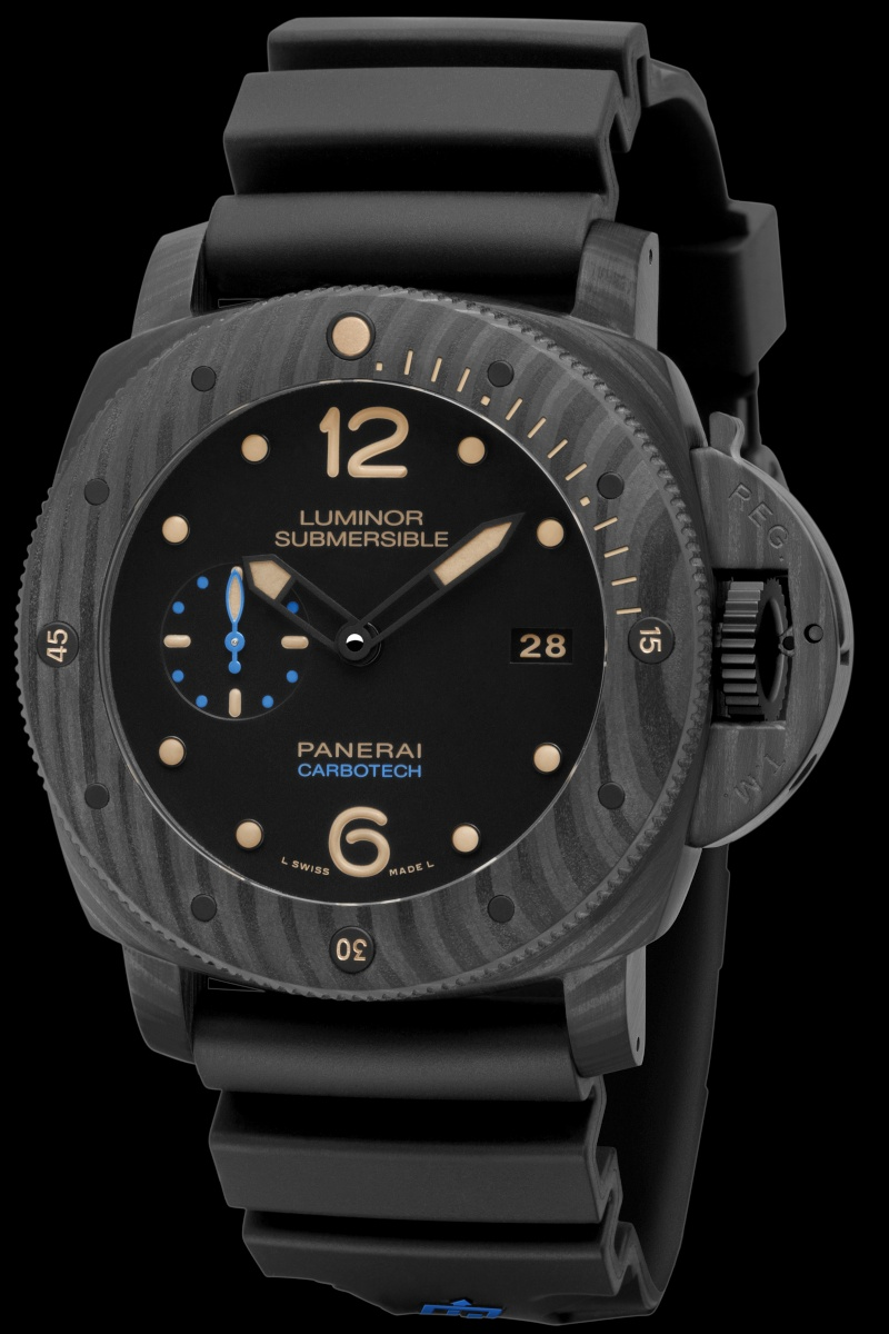 Communiqué de Presse : LUMINOR SUBMERSIBLE 1950 CARBOTECH ™ 3 DAYS AUTOMATIC - 47MM - PAM00616 Pam00646