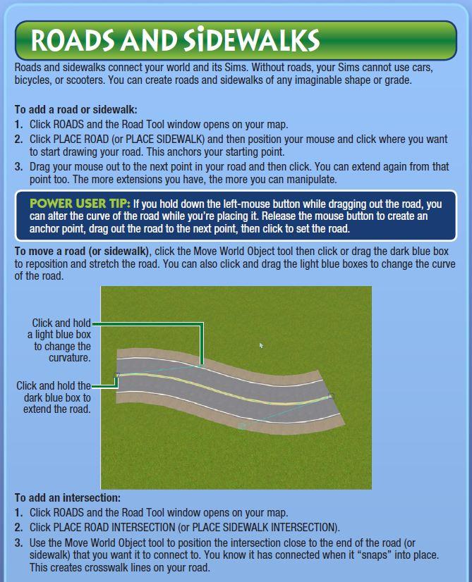 EA's Create a World Beta pdf  Roads_10