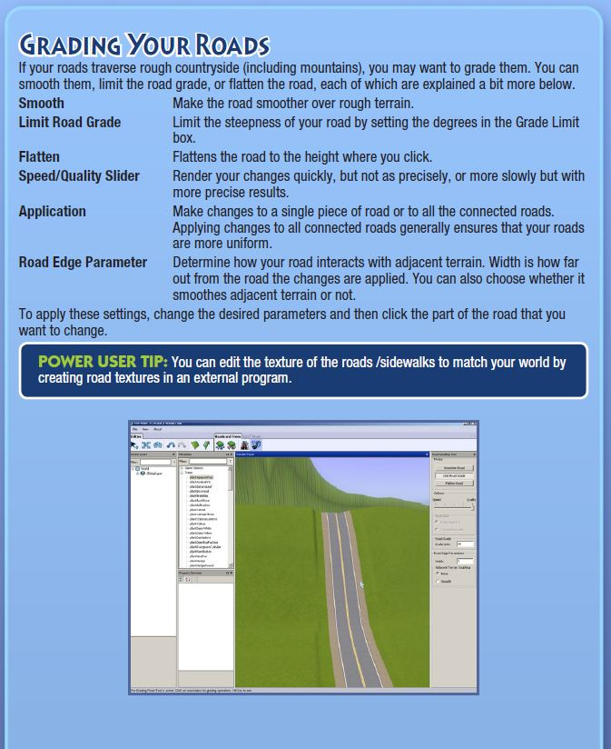 EA's Create a World Beta pdf  Roads_12