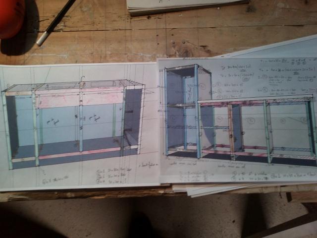 cuisine en noyer et frêne massif...de la conception à la réalisation . - Page 4 Img29811
