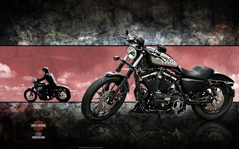 retros inversés Harley10