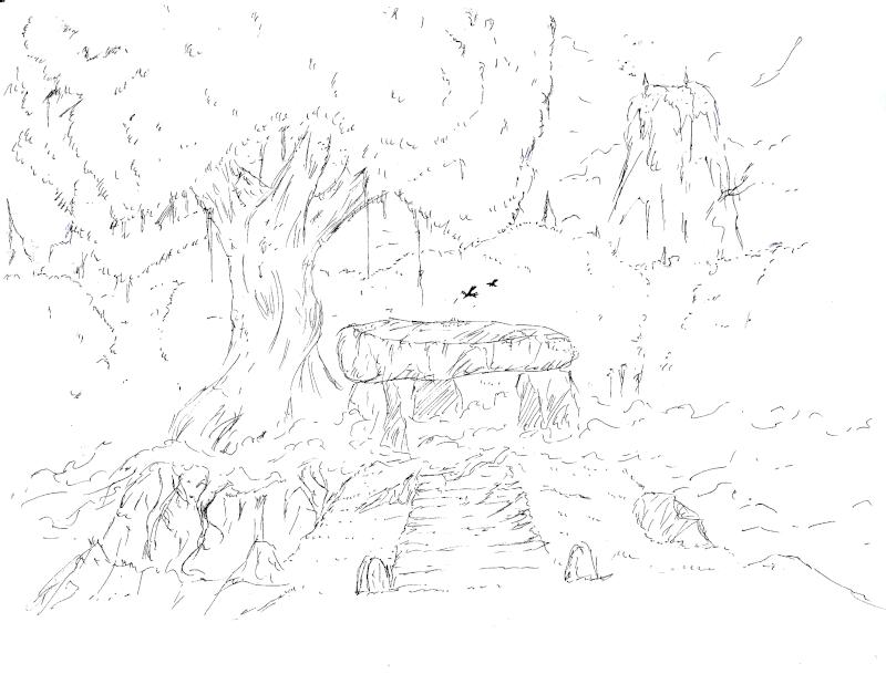 Les dessins de Gromdal - Page 4 Dolmen10