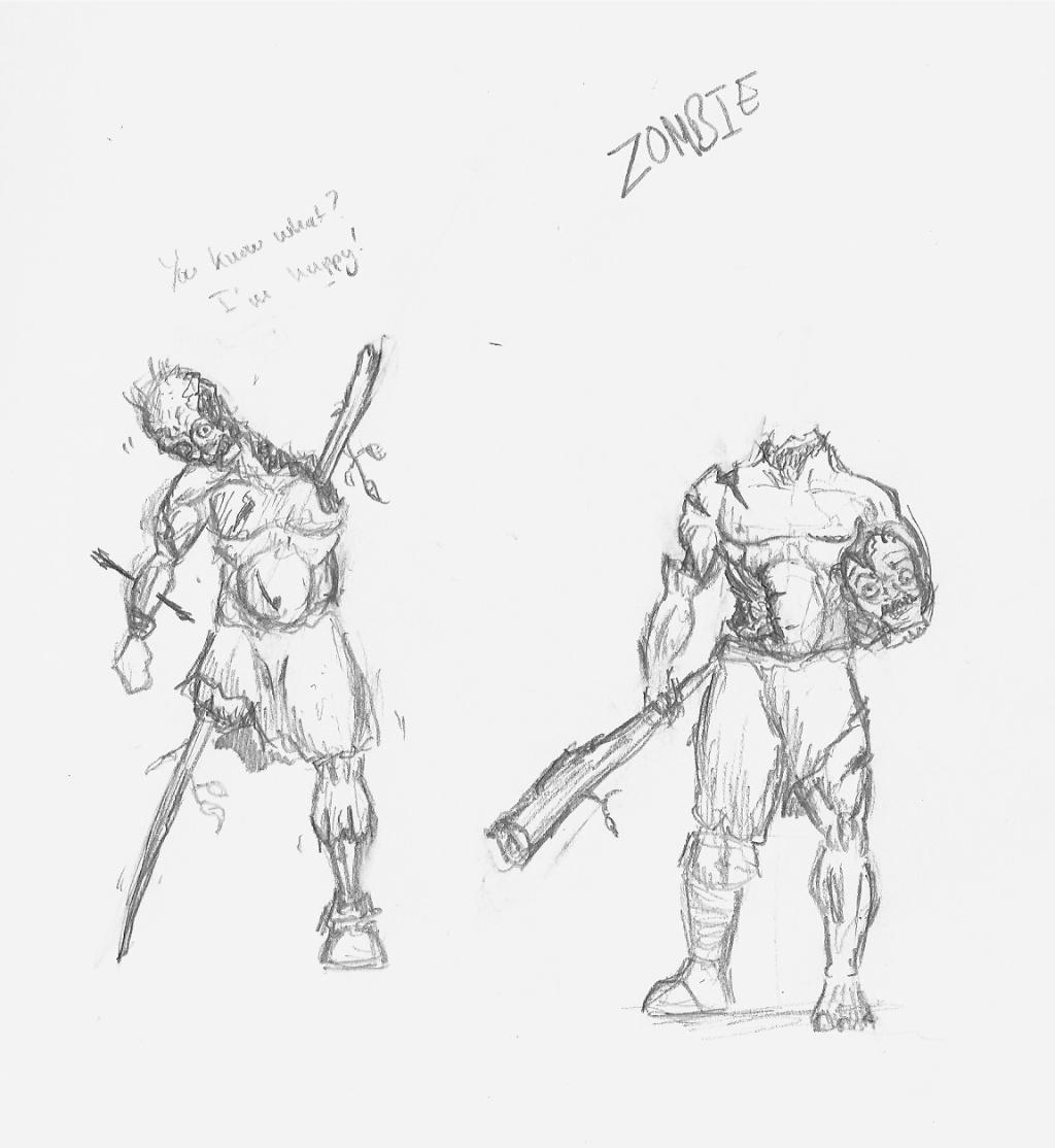 Les dessins de Gromdal - Page 4 Zombie10