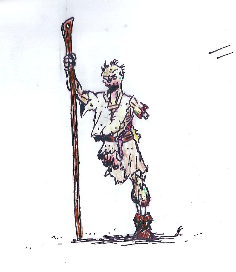 Les dessins de Gromdal - Page 4 Zombie11