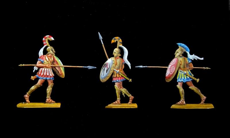 Hoplites grecs du VIe siecle av. J. Chr. F054_812
