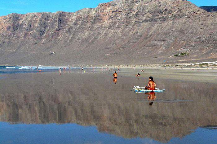 Famara, Lanzarote, du 31/01 au 7/02/2015 Famara10