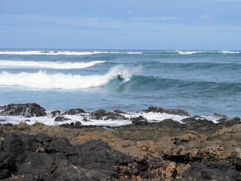 Famara, Lanzarote, du 31/01 au 7/02/2015 Surf210