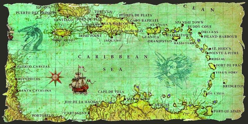 Les îles qui nous entourent ~ Carte210