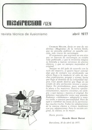 Misdirection (1977-04 Abril) Misdir10