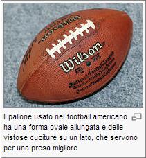 Football Americano Pallon10