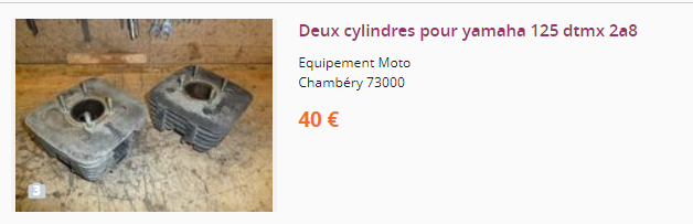 Pièces DTMX Cylind10