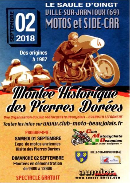 """Dimanche 2 septembre  """"montée historique des pierres dorées"""" Montzo10"""
