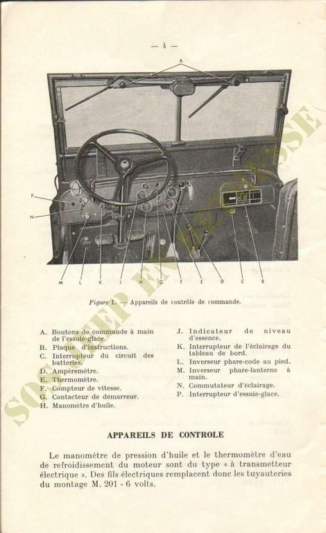 Spécificités Hotchkiss M201 24 volts Spycia18