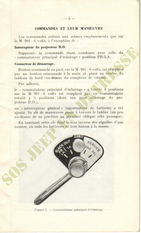 Spécificités Hotchkiss M201 24 volts Spycia19