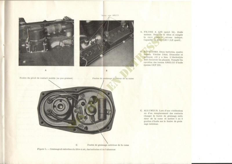 Spécificités Hotchkiss M201 24 volts Spycia24