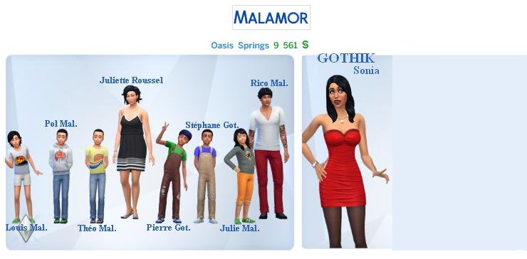 [Challenge] Tranches de Sims: Rico Malamor est pris au piège - Page 2 Famill12