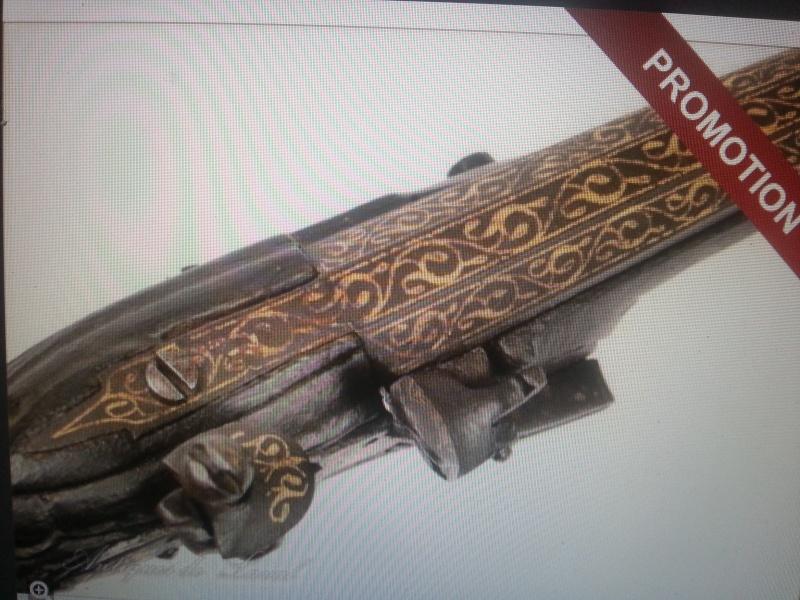 paire de pistolet ancient regime 20130723