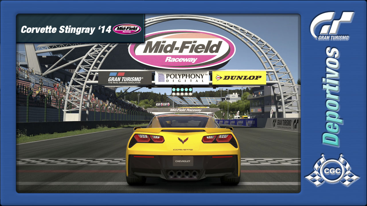 Entrenamientos Oficiales  -> Midfield Raceway - Chevrolet Corvette (22/02/2015) Corvet11
