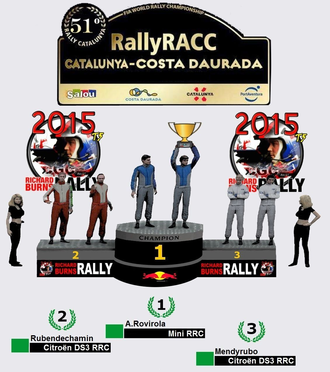 Crónica Rally RACC Catalunya-Costa Daurada R1 Podium21