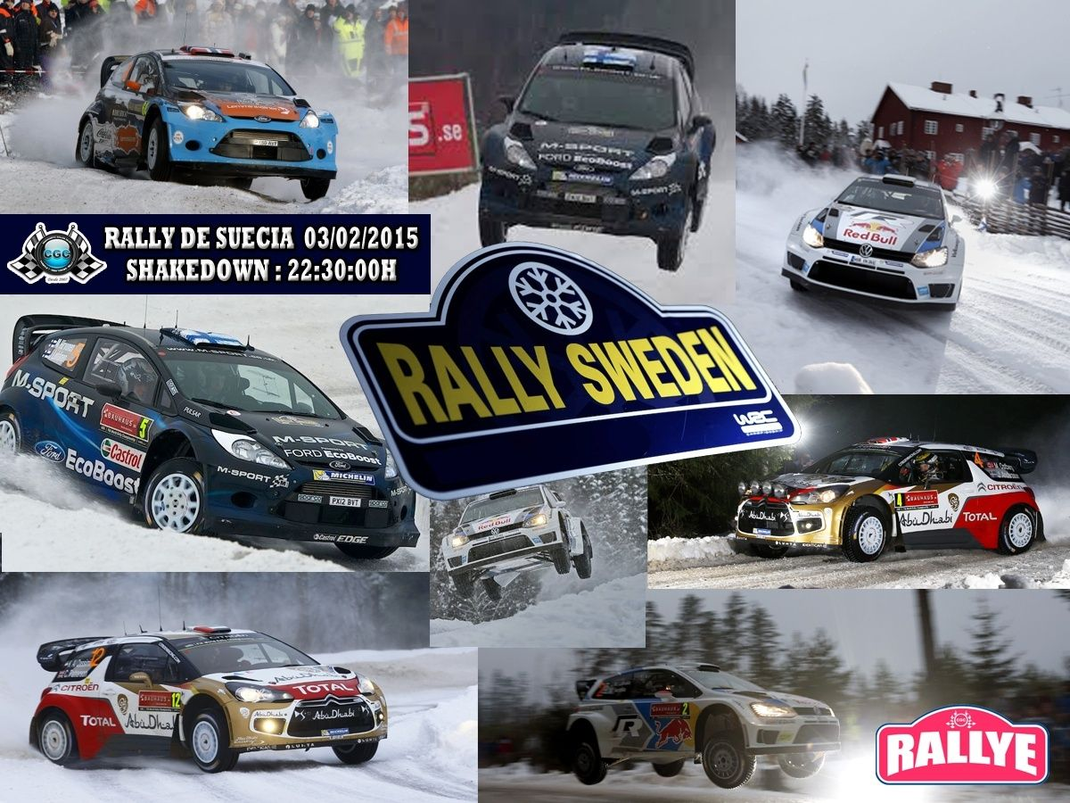 Confirmación Shakedown Rally  Suécia  03/02/2015 Rally_14