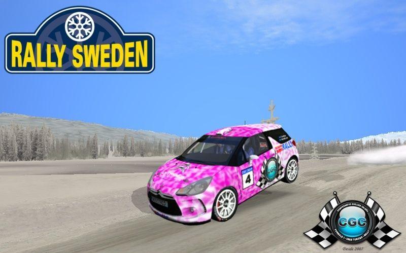 Confirmación Shakedown Rally  Suécia  03/02/2015 Suecia10