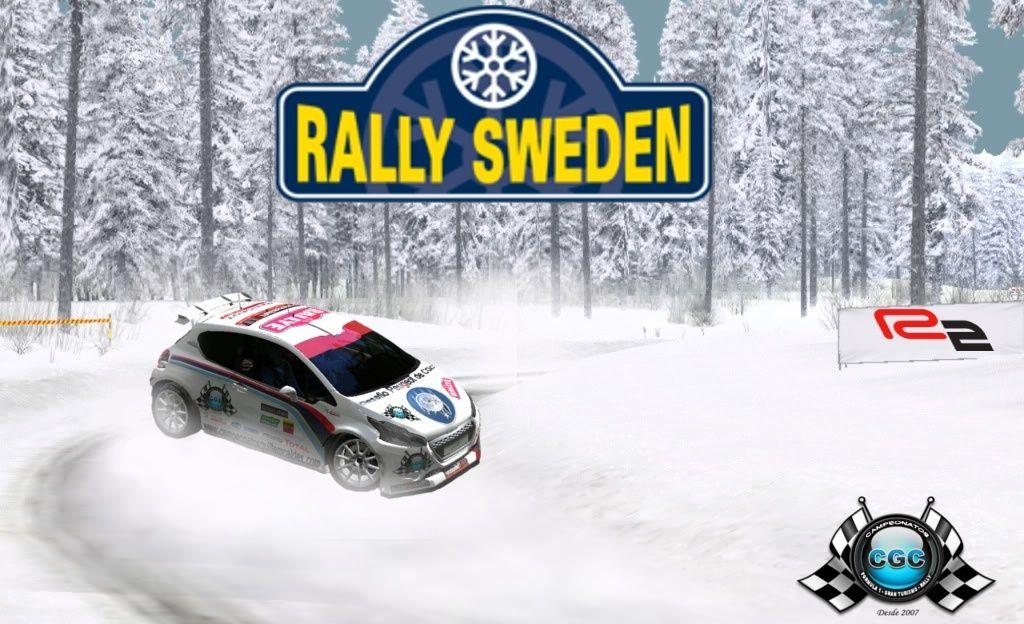 Confirmación Shakedown Rally Suécia Suecia13