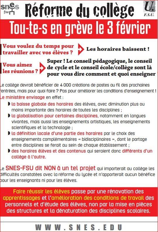"""Najat Vallaud-Belkacem et les futurs programmes d'histoire : """"remettre de la chronologie"""". Snes_r10"""