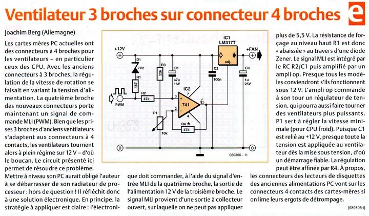 [Réalisation] Adaptateur ventillo 3 broches sur support 4 broches pour CPU. Articl11