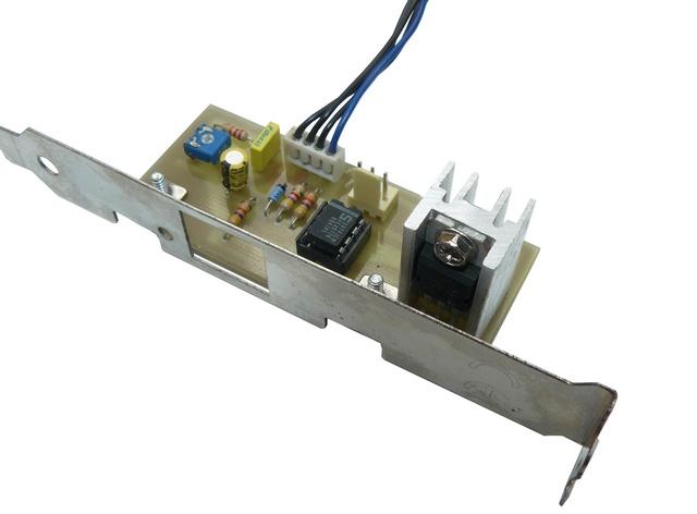 [Réalisation] Adaptateur ventillo 3 broches sur support 4 broches pour CPU. Photo_10