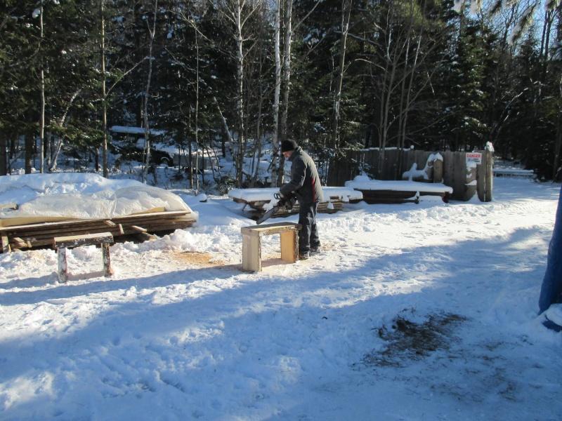 Mon atelier de meubles de  bois massif 00410
