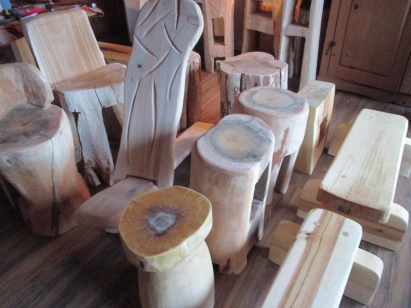 Mon atelier de meubles de  bois massif 01011