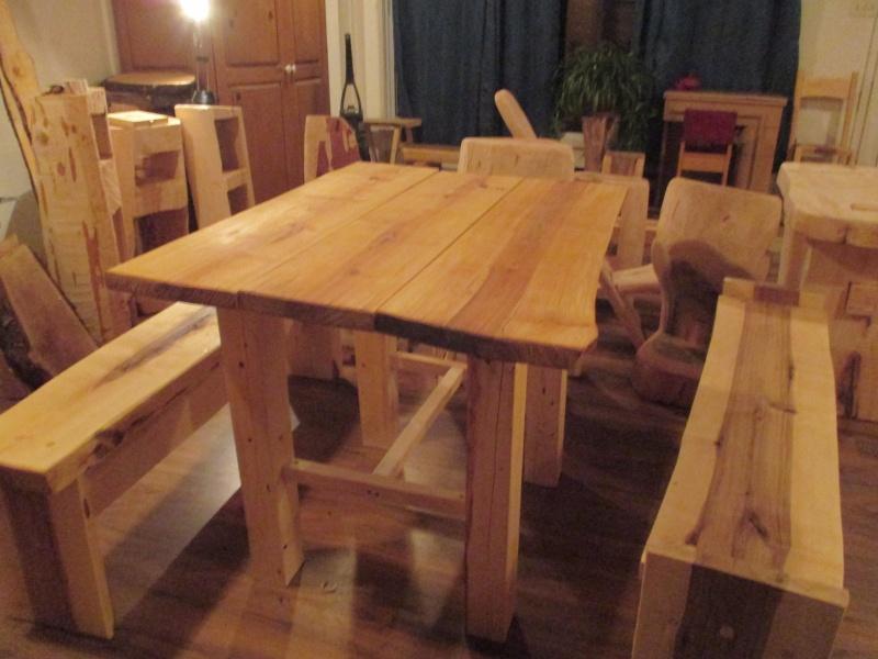 Mon atelier de meubles de  bois massif 02310