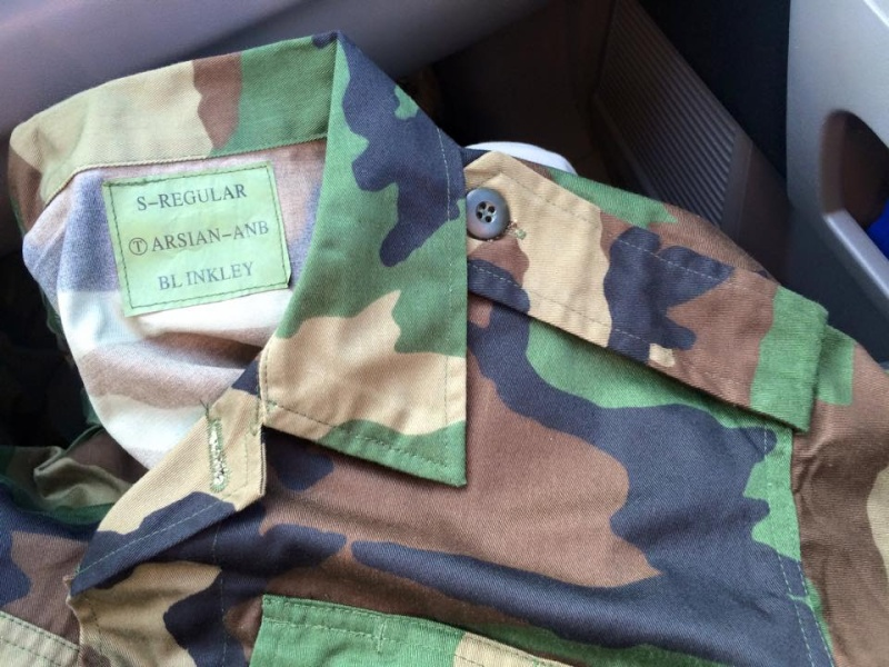 Latest lot of Afghan uniforms Ana_sh10