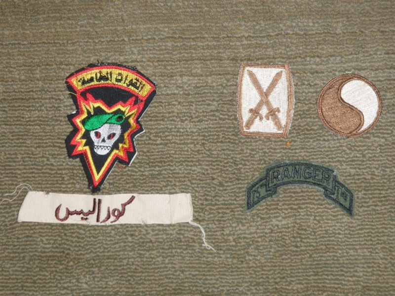 Latest find of Iraqi theater made patches P1010036