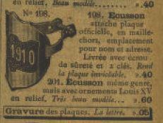 """Catalogues de la """"Manu"""" 191010"""