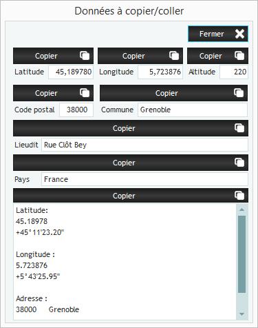 GoogleAnnote : annoter des images issues de GoogleMaps Ecran910