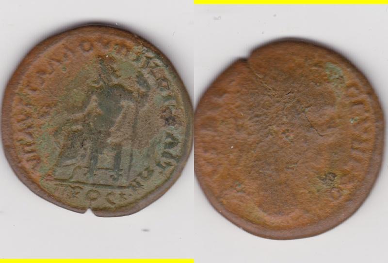 Bronze moyen Septime Sévère Nicopolis et Istrum ... Nico10