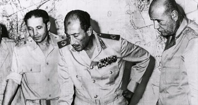 حرب 6 اكتوبر  Sadat110