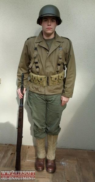 mes tenues airsoft ww2 Ranger10