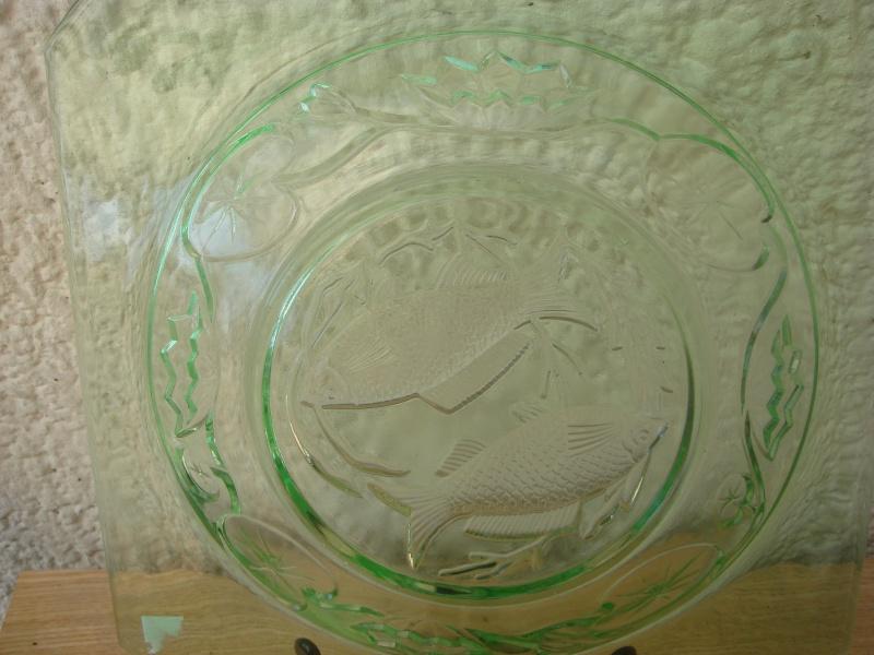 colored glass plates..fish design ?? Copied46