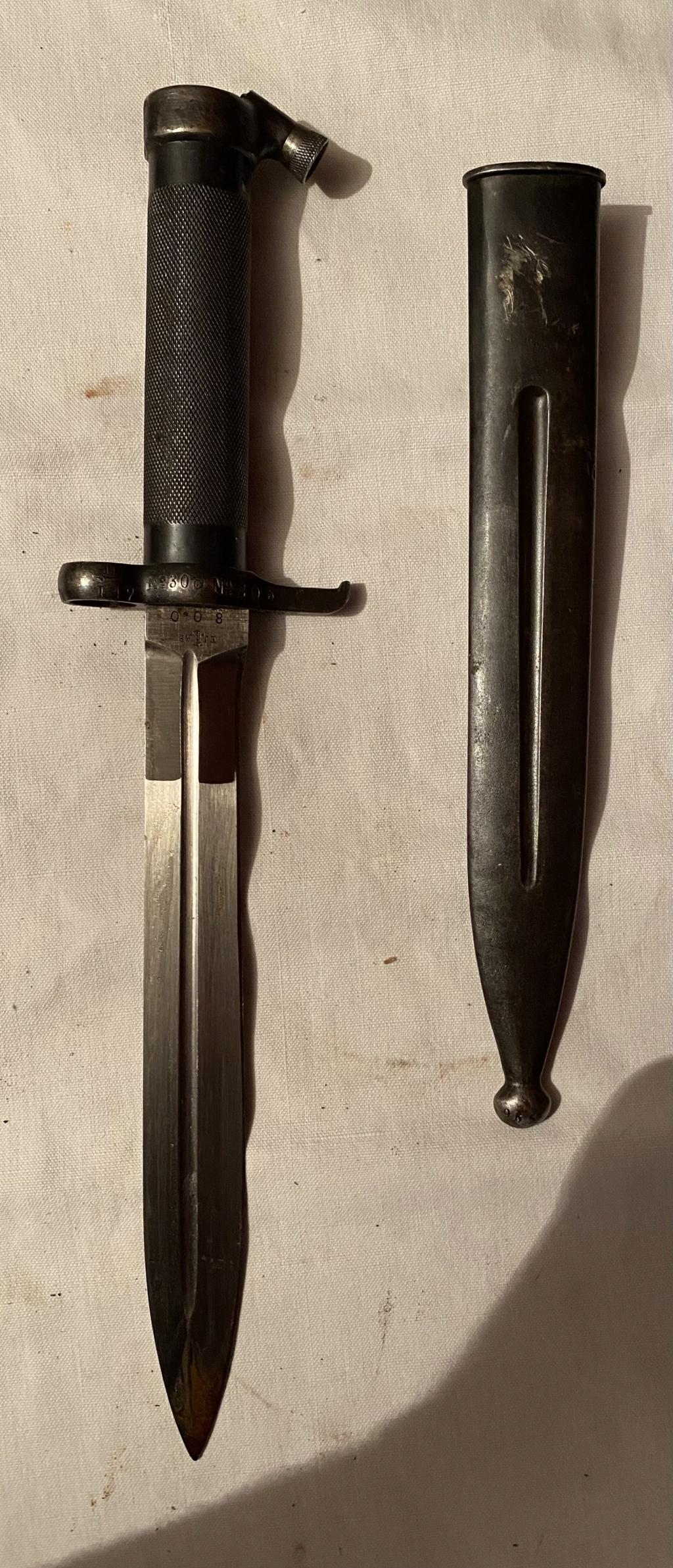 52 armes blanches ! Baïonnettes, dagues, toutes nationalités et époques ! Part 1 12_110