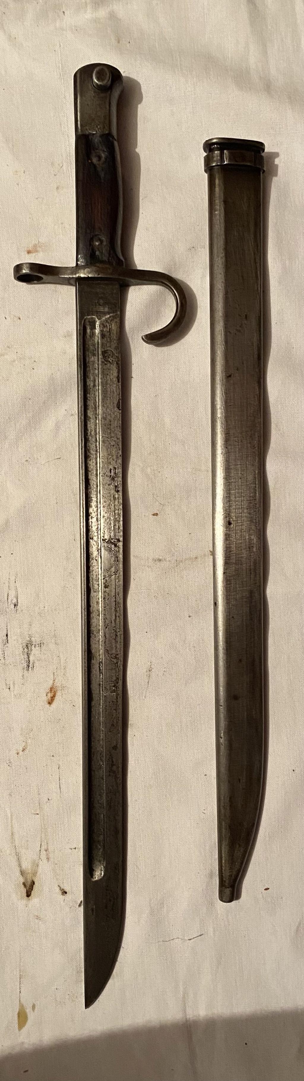 52 armes blanches ! Baïonnettes, dagues, toutes nationalités et époques ! Part 1 18_110