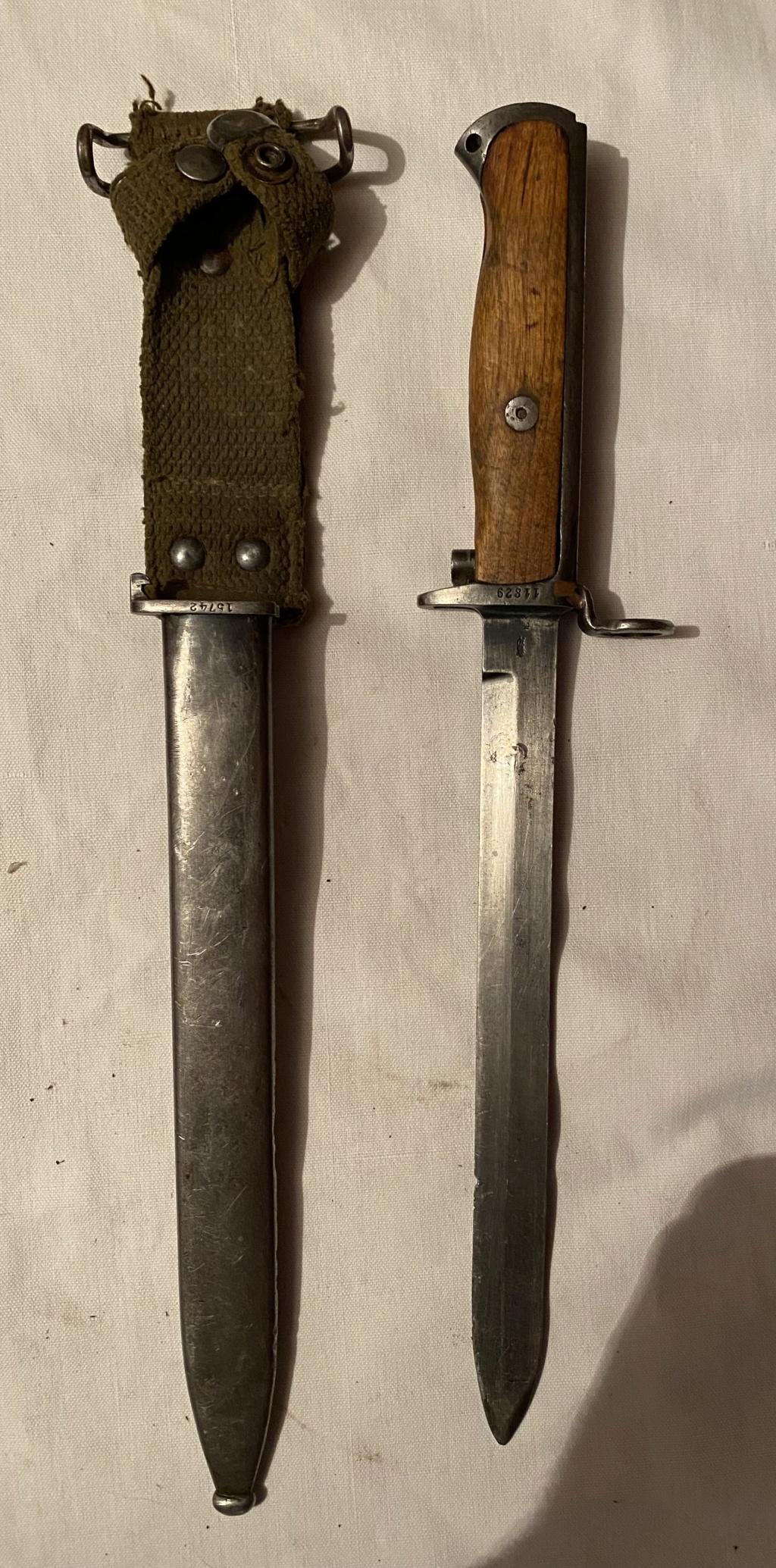 52 armes blanches ! Baïonnettes, dagues, toutes nationalités et époques ! Part 1 1_210